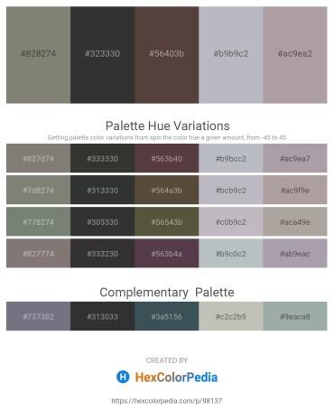 Palette image download - Gray – Black – Dim Gray – Light Slate Gray – Dark Gray