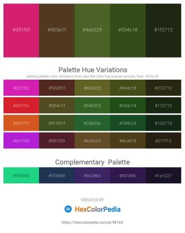 Palette image download - Medium Violet Red – Deep Pink – Dark Olive Green – Dark Olive Green – Deep Pink
