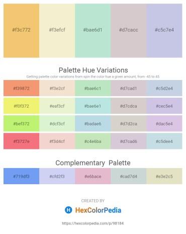 Palette image download - Sandy Brown – Beige – Powder Blue – Light Gray – Light Steel Blue