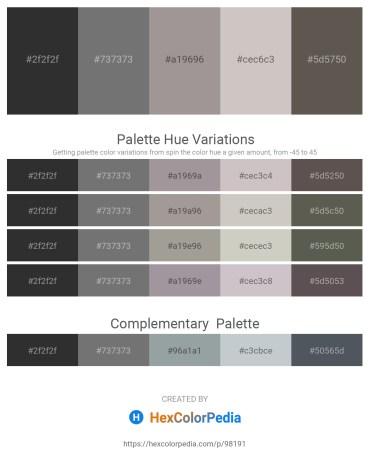 Palette image download - Black – Dim Gray – Dark Gray – Silver – Dim Gray