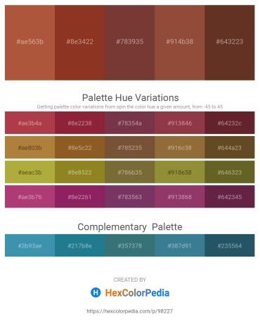 Palette image download - Sienna – Brown – Sienna – Sienna – Sienna