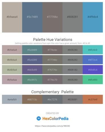 Palette image download - Dark Gray – Slate Gray – Dim Gray – Slate Gray – Steel Blue
