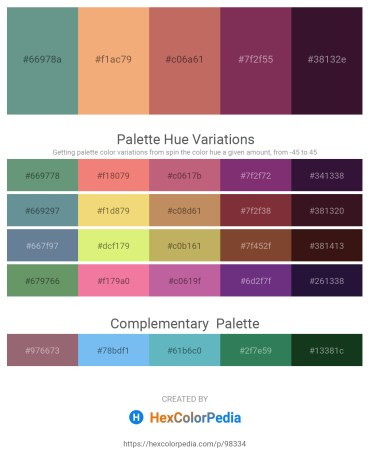 Palette image download - Cadet Blue – Sandy Brown – Indian Red – Brown – Pale Goldenrod