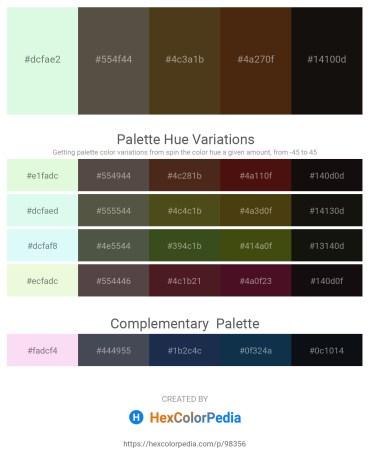 Palette image download - Light Goldenrod Yellow – Dim Gray – Steel Blue – Saddle Brown – Black