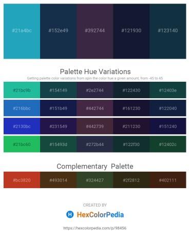 Palette image download - Light Sea Green – Midnight Blue – Tomato – Midnight Blue – Midnight Blue