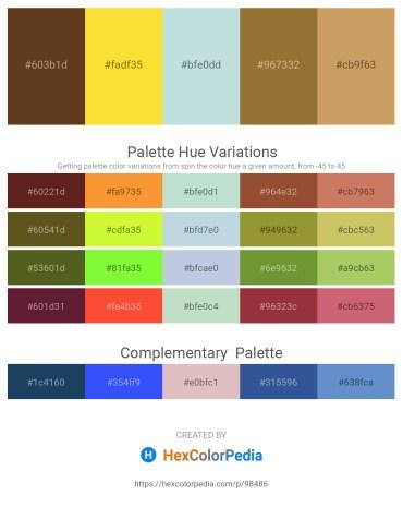 Palette image download - Sienna – Gold – Light Steel Blue – Sienna – Dark Khaki