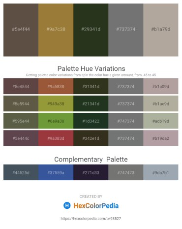 Palette image download - Dim Gray – Dim Gray – Dark Olive Green – Slate Gray – Dark Gray