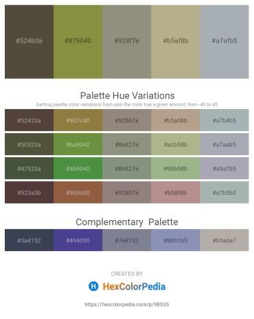 Palette image download - Dark Olive Green – Dark Olive Green – Gray – Tomato – Light Slate Gray