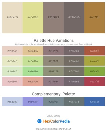 Palette image download - Beige – Burlywood – Gray – Dim Gray – Peru