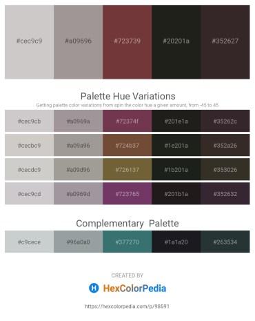 Palette image download - Light Gray – Dark Gray – Sienna – Black – Black