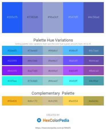 Palette image download - Dodger Blue – Slate Blue – Light Steel Blue – Dodger Blue – Steel Blue
