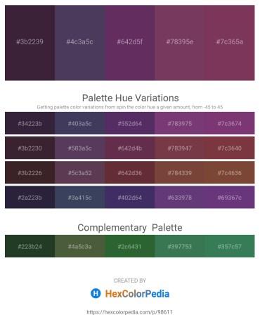Palette image download - Black – Dark Slate Blue – Indian Red – Tomato – Navajo White
