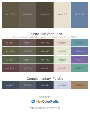 Palette image download - Dim Gray – Dim Gray – Light Steel Blue – Beige – Light Slate Gray