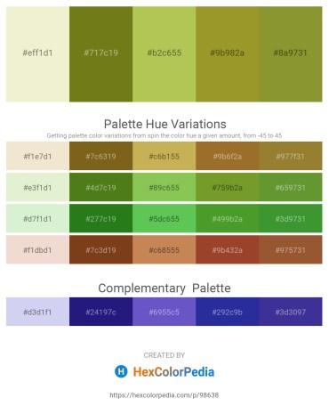 Palette image download - Beige – Olive Drab – Dark Khaki – Olive Drab – Olive Drab