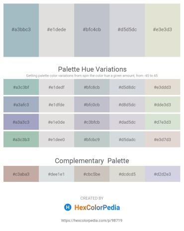 Palette image download - Light Steel Blue – Gainsboro – Light Steel Blue – Light Steel Blue – Gainsboro