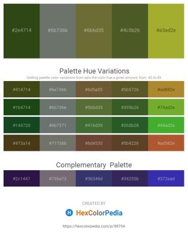Palette image download - Dark Olive Green – Slate Gray – Dark Olive Green – Dark Olive Green – Yellow Green
