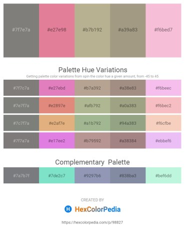 Palette image download - Gray – Pale Violet Red – Dim Gray – Turquoise – Black