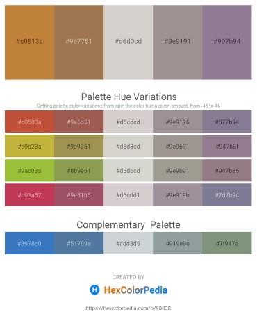 Palette image download - Peru – Dim Gray – Light Gray – Dark Gray – Light Slate Gray