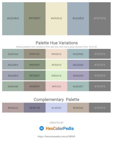 Palette image download - Light Slate Gray – Gray – Beige – Light Slate Gray – Gray