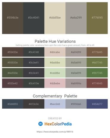 Palette image download - Dim Gray – Dark Slate Gray – Tan – Dark Gray – Dark Olive Green