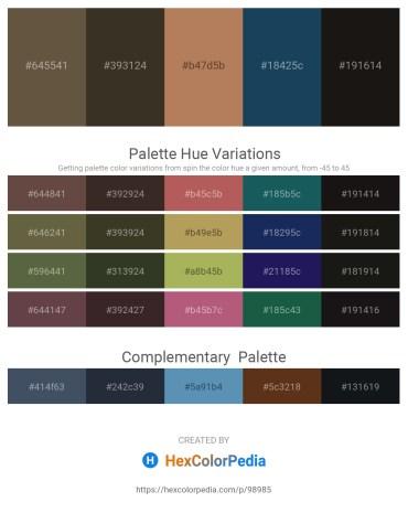 Palette image download - Dark Olive Green – Dark Olive Green – Dark Olive Green – Midnight Blue – Black