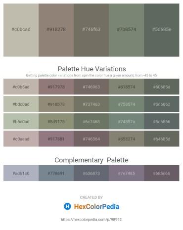 Palette image download - Silver – Gray – Dim Gray – Gray – Slate Gray