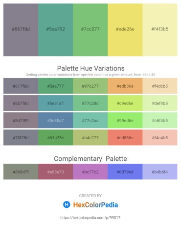 Palette image download - Slate Gray – Cadet Blue – Dark Sea Green – Khaki – Wheat