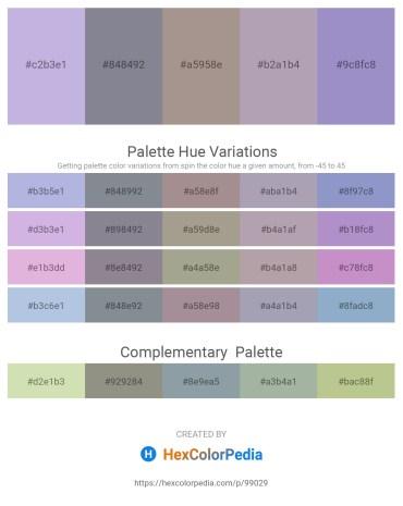 Palette image download - Light Steel Blue – Light Slate Gray – Dark Gray – Light Slate Gray – Light Steel Blue