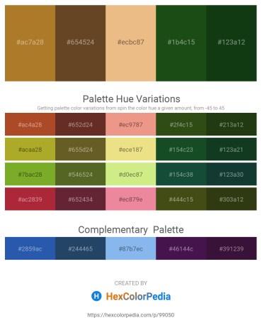 Palette image download - Sienna – Dark Slate Gray – Dark Salmon – Rosy Brown – Slate Gray