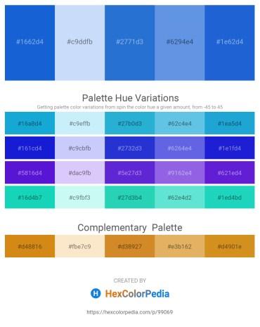 Palette image download - Royal Blue – Alice Blue – Royal Blue – Cornflower Blue – Royal Blue
