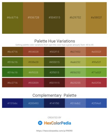 Palette image download - Olive Drab – Sienna – Dark Olive Green – Dark Khaki – Tomato