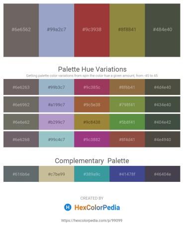 Palette image download - Dim Gray – Light Steel Blue – Sienna – Dark Olive Green – Dark Olive Green