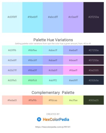 Palette image download - Light Cyan – Light Sky Blue – Light Sky Blue – Dark Slate Gray – Dark Slate Gray