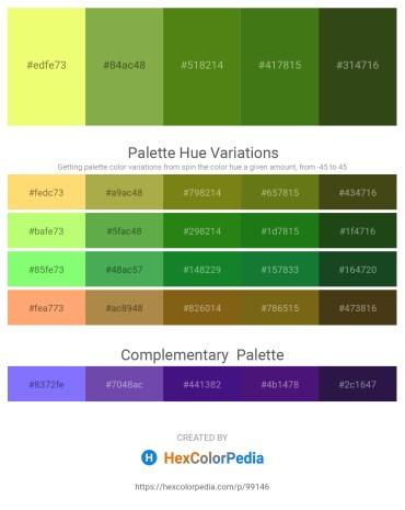 Palette image download - Khaki – Dark Khaki – Olive Drab – Forest Green – Dark Olive Green