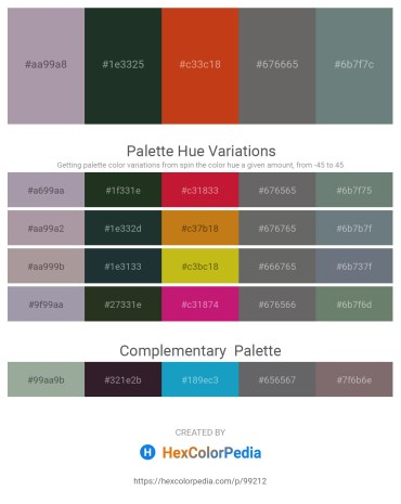 Palette image download - Dark Gray – Dark Slate Gray – Firebrick – Dim Gray – Slate Gray