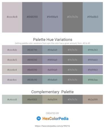 Palette image download - Silver – Slate Gray – Light Slate Gray – Gray – Light Slate Gray