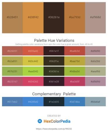 Palette image download - Peru – Peru – Black – Peru – Rosy Brown