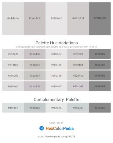 Palette image download - Gainsboro – Silver – Gainsboro – Light Gray – Gray