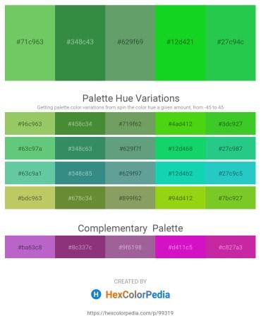 Palette image download - Medium Sea Green – Sea Green – Cadet Blue – Lime – Lime Green