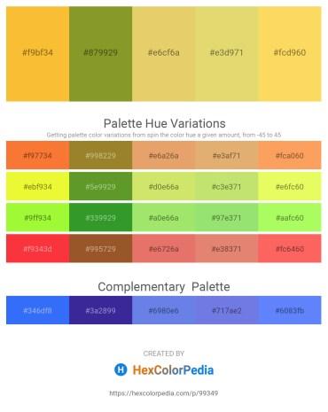 Palette image download - Sandy Brown – Olive Drab – Khaki – Khaki – Light Steel Blue