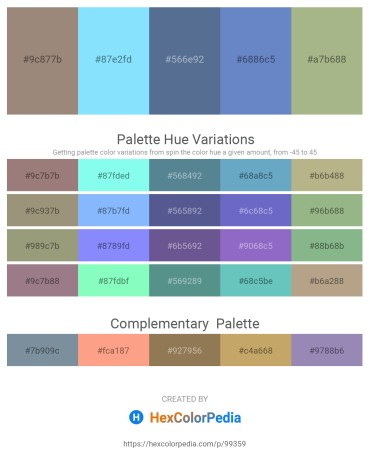 Palette image download - Gray – Light Sky Blue – Slate Gray – Steel Blue – Dark Sea Green