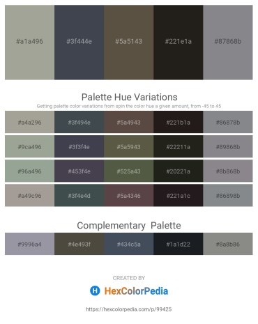 Palette image download - Dark Gray – Dark Slate Gray – Dim Gray – Black – Slate Gray