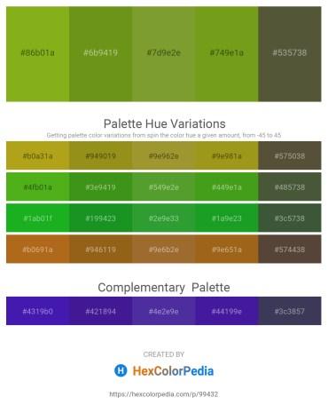 Palette image download - Olive Drab – Olive Drab – Olive Drab – Olive Drab – Dark Olive Green
