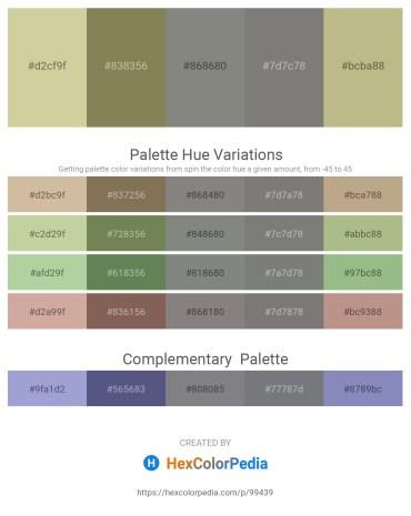 Palette image download - Tan – Dim Gray – Gray – Gray – Dark Khaki