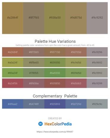 Palette image download - Dark Khaki – Gray – Dark Khaki – Dark Khaki – Dark Gray