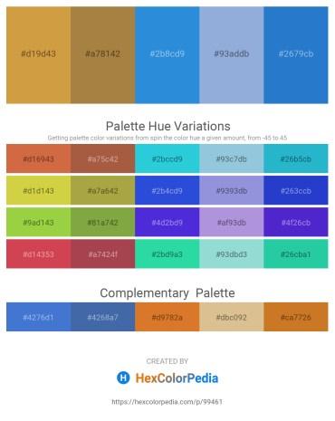Palette image download - Peru – Peru – Royal Blue – Light Steel Blue – Royal Blue