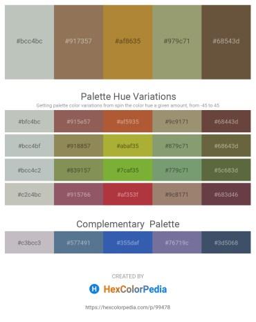 Palette image download - Dark Sea Green – Dim Gray – Peru – Dark Sea Green – Gray