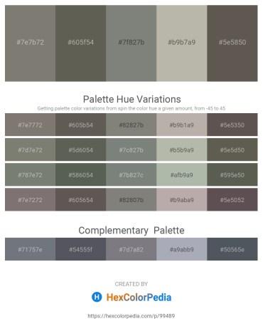 Palette image download - Gray – Dim Gray – Gray – Dark Gray – Dim Gray