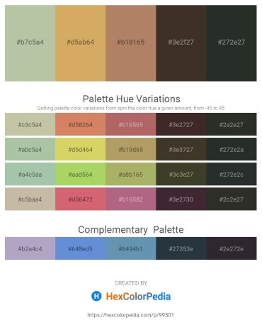 Palette image download - Dark Sea Green – Burlywood – Rosy Brown – Dark Olive Green – Dark Slate Gray