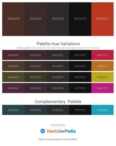 Palette image download - Dark Slate Blue – Black – Black – Black – Firebrick